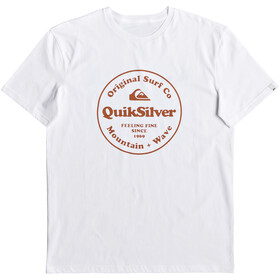 Quiksilver Secret Ingredient Camiseta manga corta Hombre, white